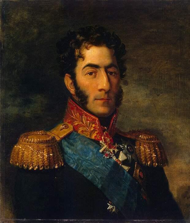 Портрет Петра Багратиона работы Джорджа Доу.jpg