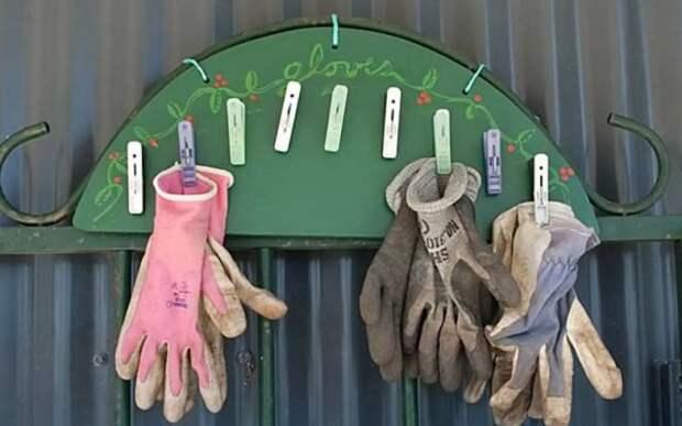Вешалка для перчаток своими руками