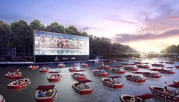 Во Франции открывают плавучий кинотеатр