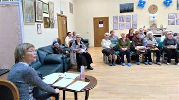 Центр соцобслуживания в Алтуфьеве возобновляет музыкальные встречи для пенсионеров