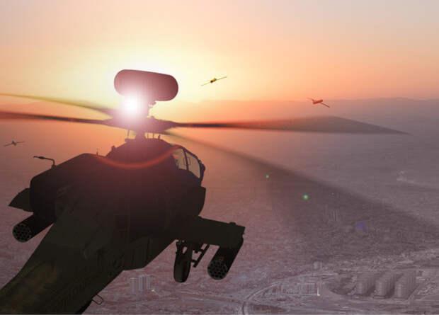 Британцы создадут систему взаимодействия пилотируемых вертолетов и беспилотников
