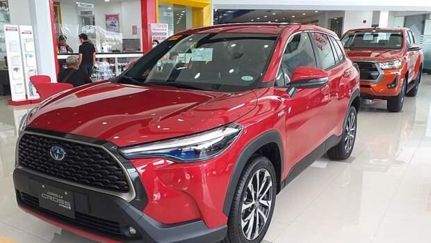 Toyota оформила российский патент на дизайн кроссовера Corolla Cross