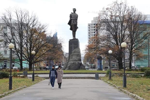 Ограду сквера на площади Горького капитально отремонтируют к 1 июля в Нижнем Новгорода