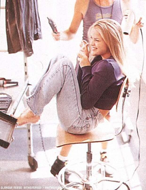 Риз Уизерспун в начале 90-ых.