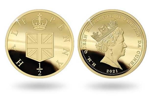50-летие перехода Британии на десятичную систему учета денег отметили коллекционной золотой монетой