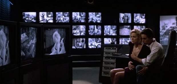 """Шэрон Стоун в эротическом триллере """"Щепка"""" (1993)."""