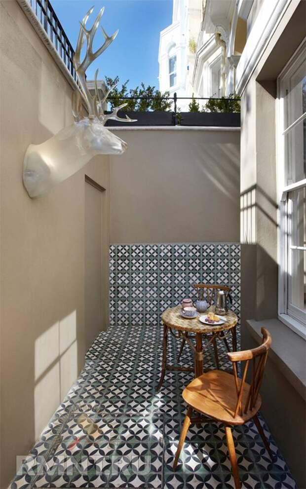 Место для завтрака на свежем воздухе: фотопримеры