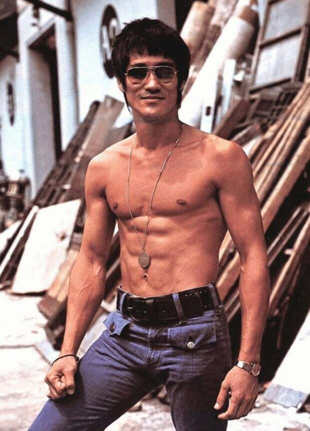 Bruce Lee, 1970 история, ретро, фото