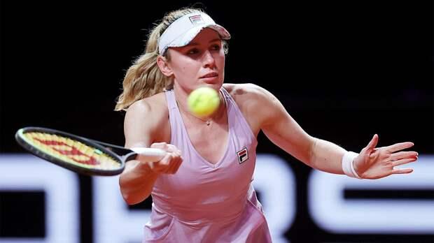 Александрова обыграла Костюк в первом круге «Мастерса» в Риме