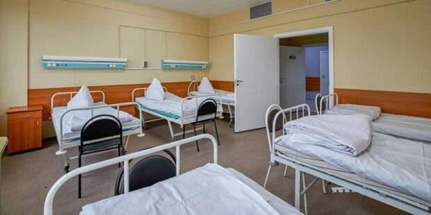 Собянин рассказал о временных медкорпусах при ГКБ для больных COVID-19. Фото: mos.ru