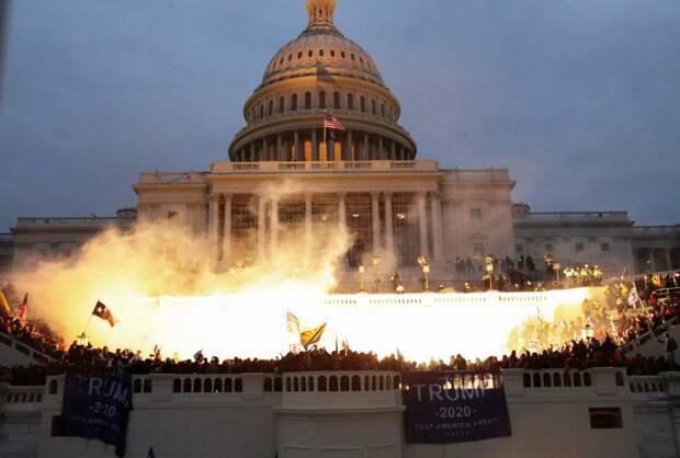 Хаос в Вашингтоне: американский 93-й