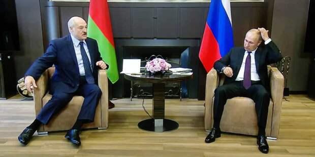 Названо место встречи Путина и Лукашенко