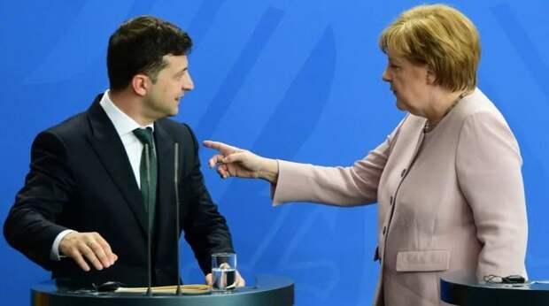 Меркель озвучила Зеленскому ультиматум по Донбассу