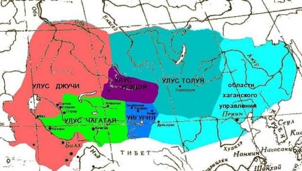 улусы монголии