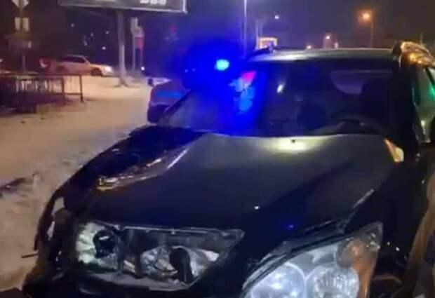 В Железнодорожном районе задержан водитель автомобиля, подозреваемый в наезде на двух подростков со смертельным исходом