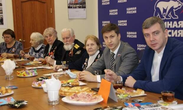 «Единая Россия» чествует ветеранов Победы
