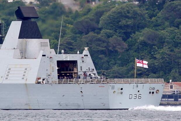 Реакция Британии на инцидент с эсминцем в Черном море