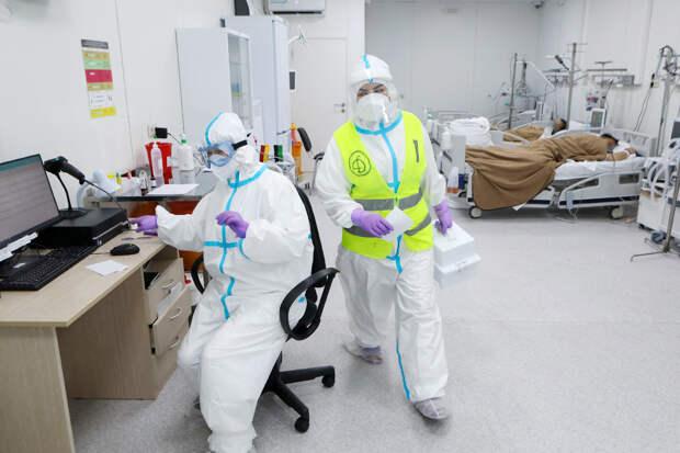 В России за сутки выявили 9169 заражённых COVID-19