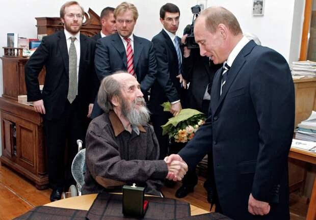 Солженицын как маркер и идеология российской власти