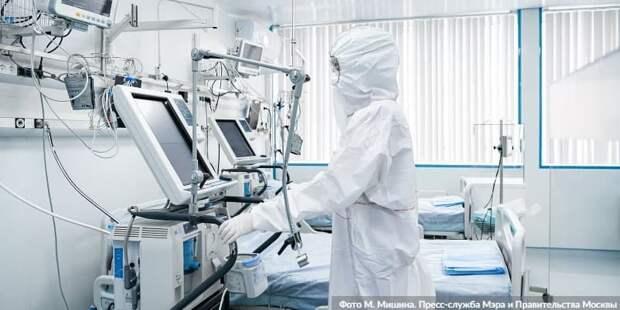 Собянин утвердил размер допвыплат лечащим COVID-19 медработникам. Фото: М. Мишин mos.ru