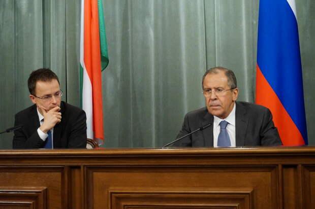 У России и Венгрии один взгляд на дискриминационную политику Киева – Лавров