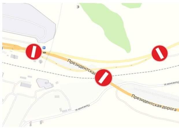Президентскую дорогу в Севастополе будут перекрывать четыре дня