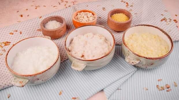 Молочная рисовая каша по-скандинавски. Томлёная каша получается нежной и в меру вязкой 4