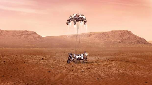 Китайский аппарат «Тяньвэнь-1» совершил посадку на Марс