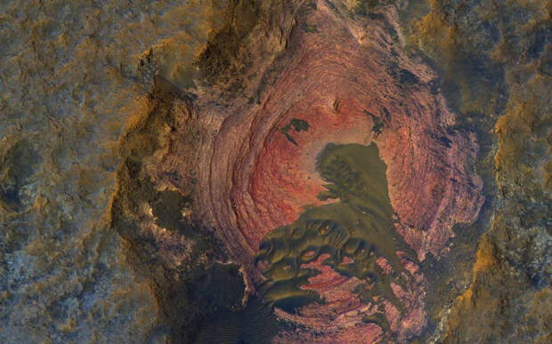 Невероятный снимок поверхности Марса