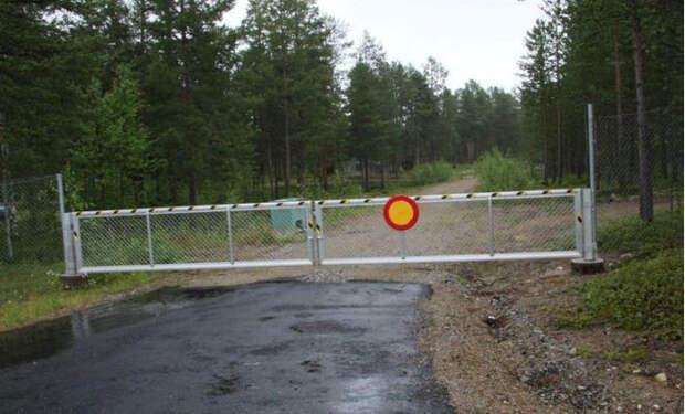 Граница с Финляндией