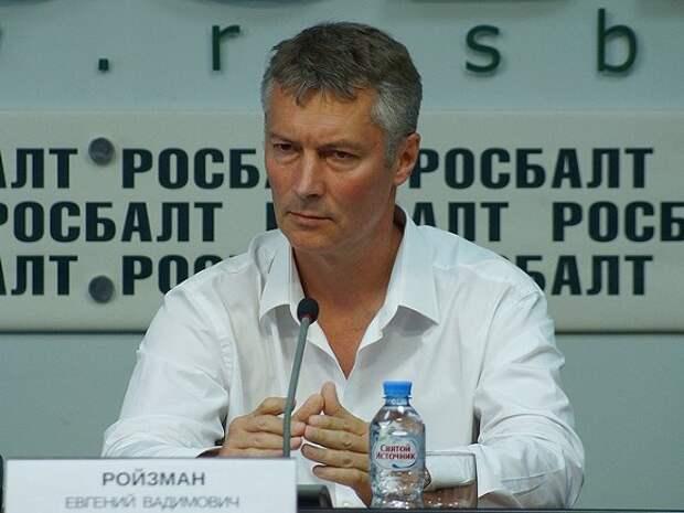 Евгения Ройзмана отправили в спецприемник на 9 суток