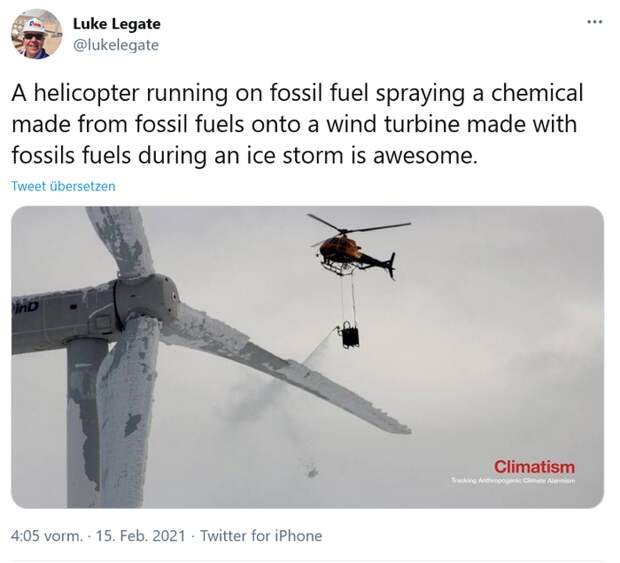 """Вот такая вот """"зелёная энергетика"""""""