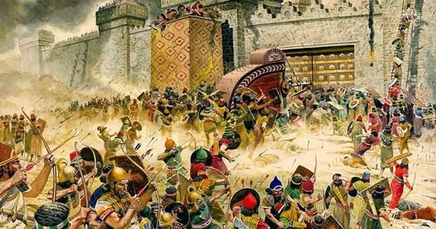 Сожжение древнего Иерусалима Вавилоном доказали при помощи магнитного поля