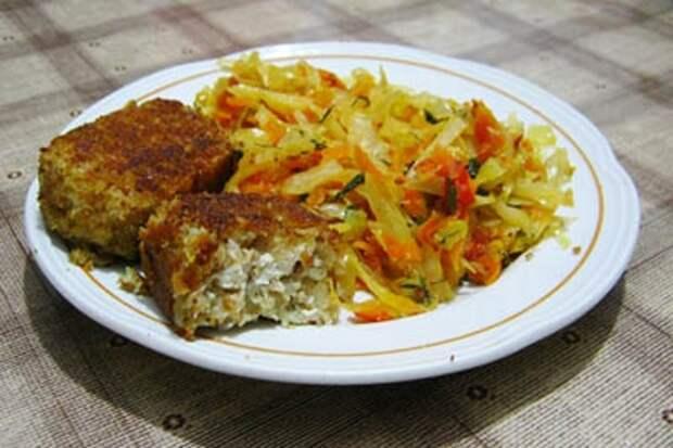Постные блюда с тофу