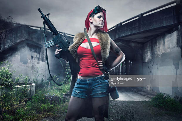 Post Apocalyptic Girl