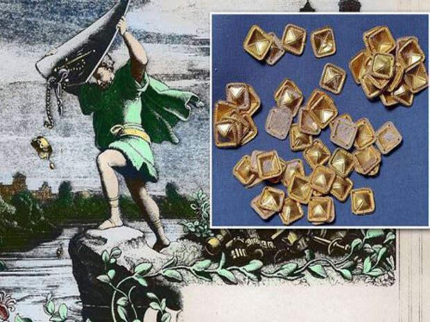 нибелунги сокровища нибелунгов клад археология история германия кладоискательство черная археология