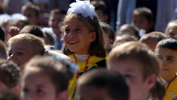 Более 76 тыс детей зачислили в первый класс в Подмосковье