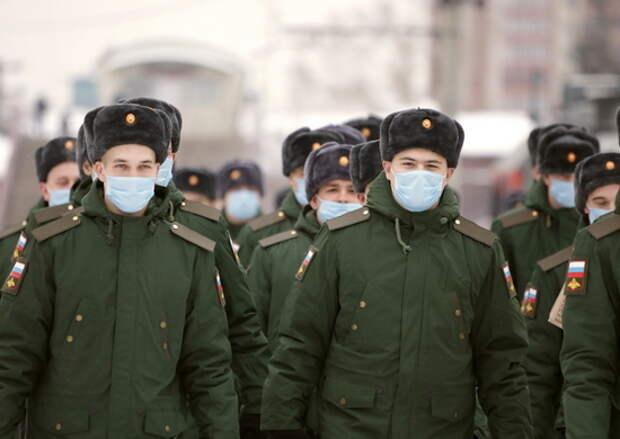 Первые призывники отправились в соединения и воинские части ЦВО из регионов Сибири