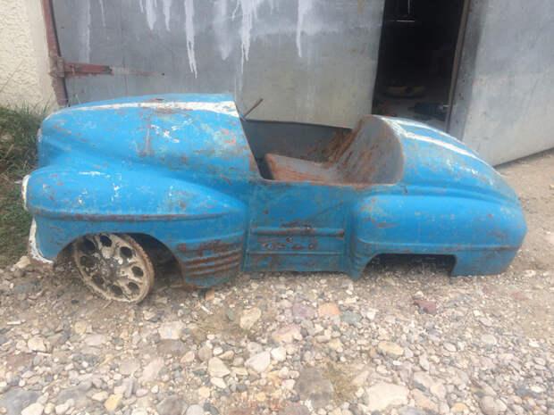 Урал игрушки, педальные машинки, реставрация