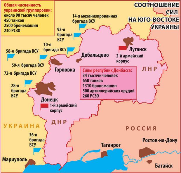 Российская армия предотвратила «карабах» на Донбассе