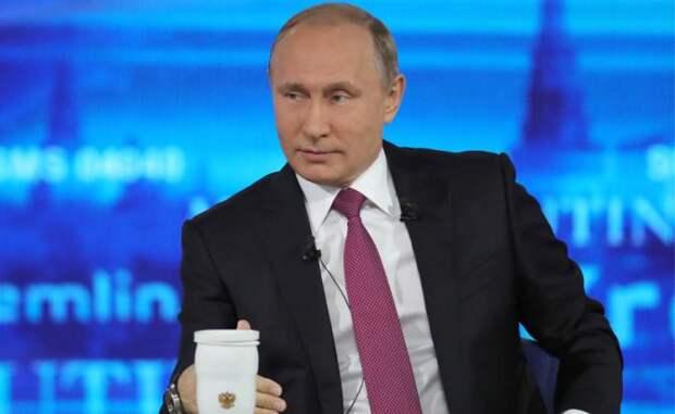 Путин побыл добрым волшебником