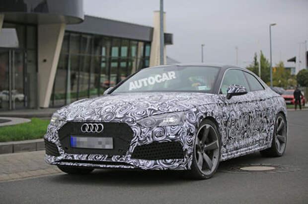 Даунсайзинг по-взрослому: Audi RS5 готовится к большой перемене