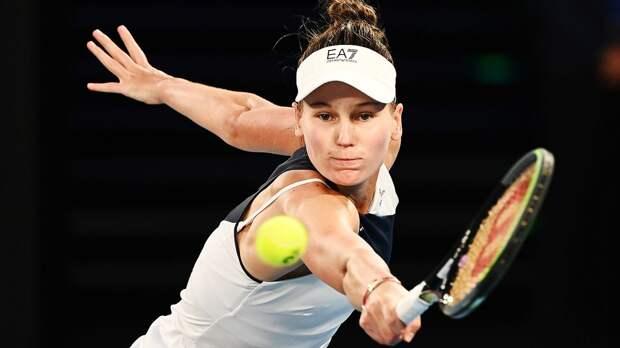 Русская теннисистка почти обыграла топ-2 в мире. Халеп отказалась от большой груди