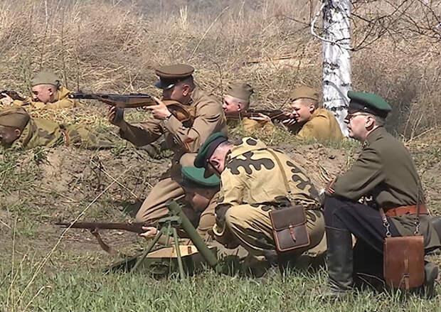 В Омске прошла военно-историческая реконструкция одного из первых приграничных сражений 1941 года