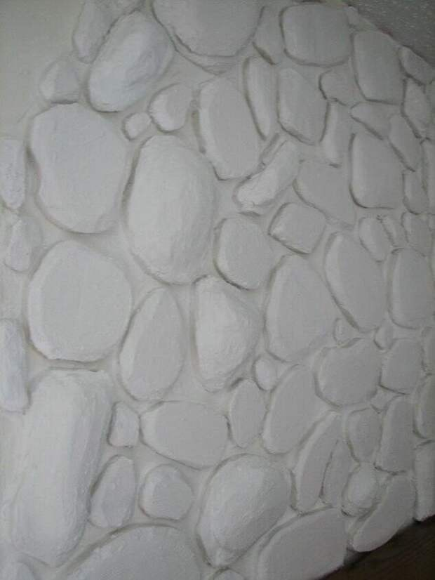 Поразительное преображение стены благодаря куску обычного пенопласта