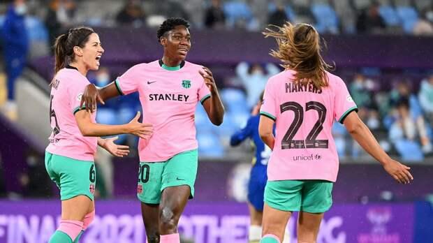 «Барселона» впервые выиграла женскую Лигу чемпионов. В финале был разгромлен «Челси»