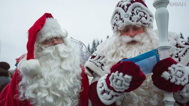Киевлянам заменили Деда Мороза на Санта-Клауса