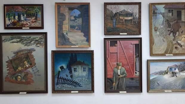 При поддержке Минкульта Крыма представлен новый выставочный проект