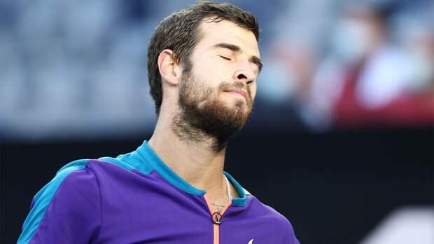 Хачанов отреагировал на выход в четвертьфинал турнира в Лионе