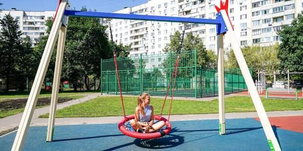 Во дворах Выхина-Жулебина обновят детские площадки и починят тротуары